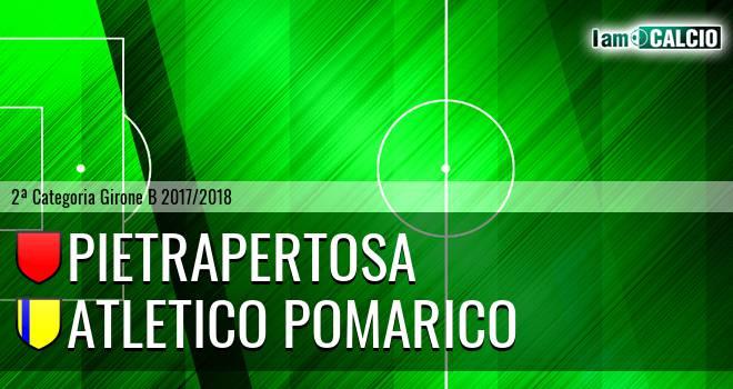 Pietrapertosa - Atletico Pomarico
