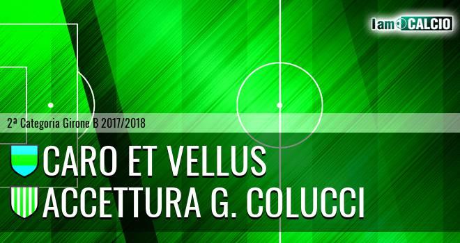 Caro et Vellus - Accettura G. Colucci