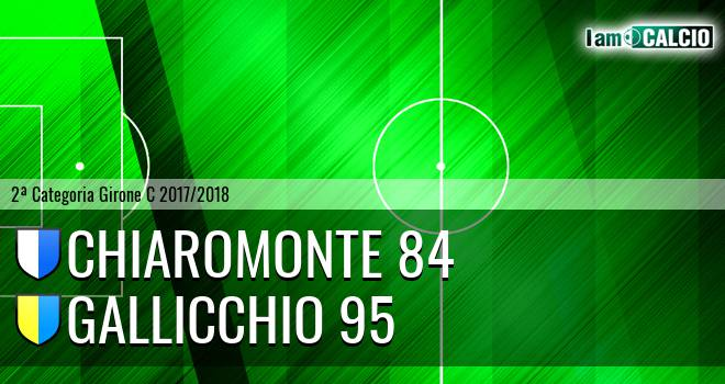 Chiaromonte 84 - Gallicchio 95