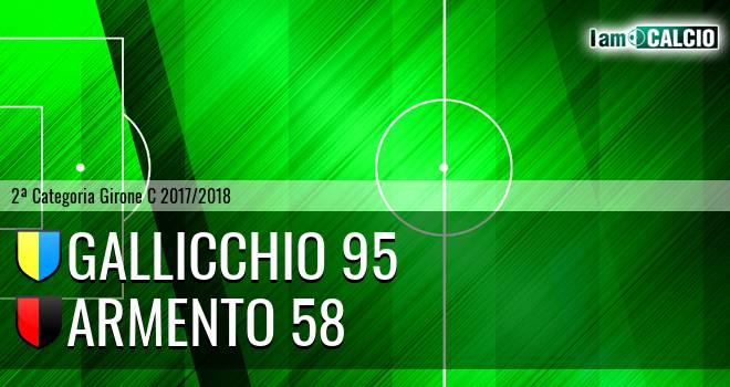 Gallicchio 95 - Armento 58