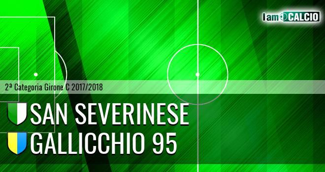 Sanseverinese - Gallicchio 95
