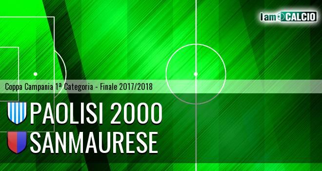 Paolisi 2000 - Sanmaurese 0-1. Cronaca Diretta 18/04/2018