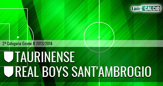 Taurinense - Real Boys Sant'Ambrogio