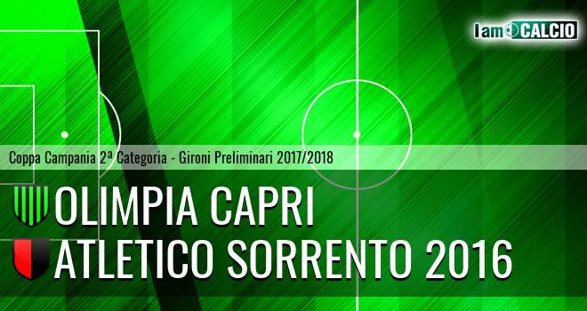 Olimpia Capri - Atletico Sorrento 2016
