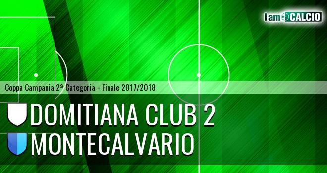 Domitiana Club 2 - Montecalvario 1-5. Cronaca Diretta 11/04/2018