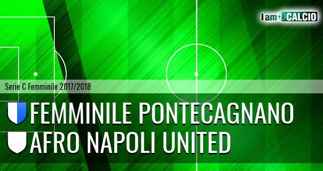 Femminile Pontecagnano - Afro Napoli United