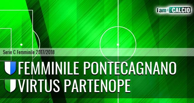 Femminile Pontecagnano - Virtus Partenope