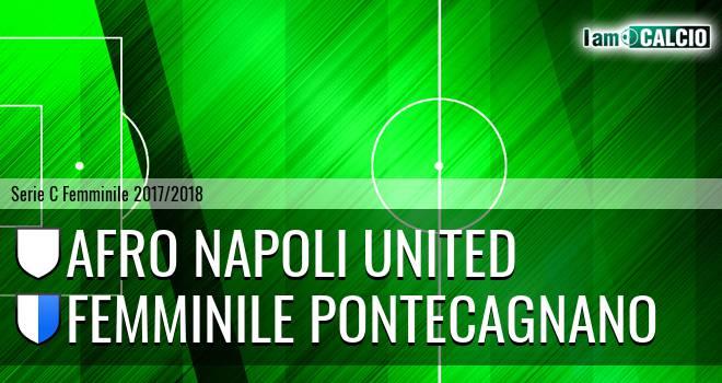 Afro Napoli United Femminile - Femminile Pontecagnano