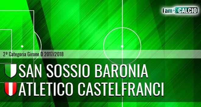 San Sossio Baronia - Atletico Castelfranci