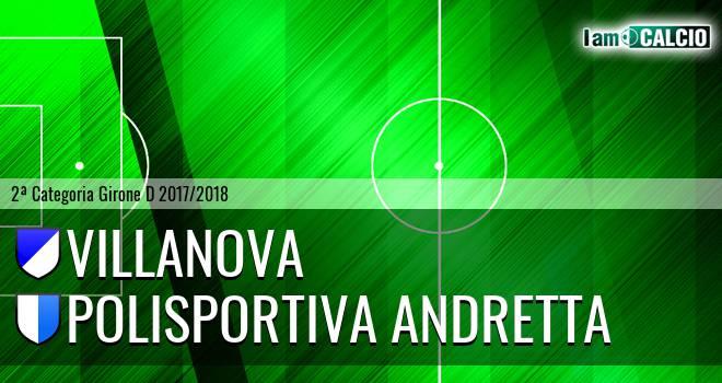 Villanova - Polisportiva Andretta
