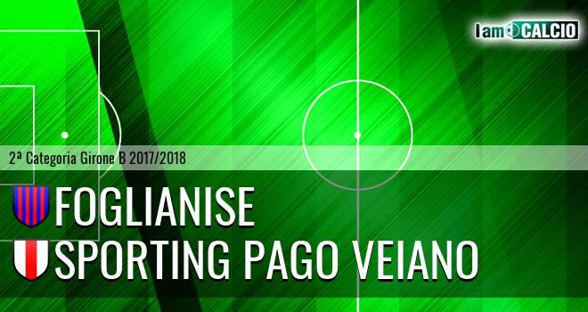 Foglianise - Sporting Pago Veiano