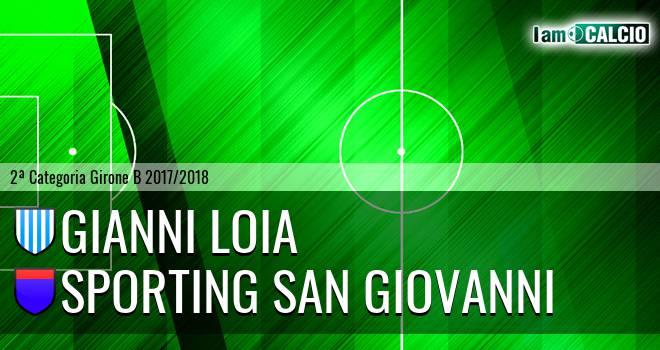 Gianni Loia - Sporting San Giovanni
