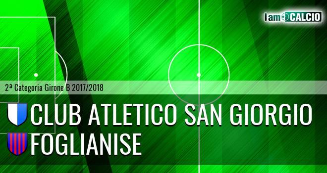 Club Atletico San Giorgio - Foglianise