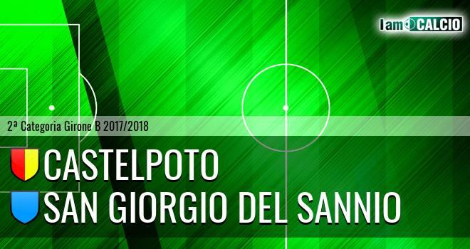 Castelpoto - San Giorgio del Sannio 1-1. Cronaca Diretta 17/02/2018