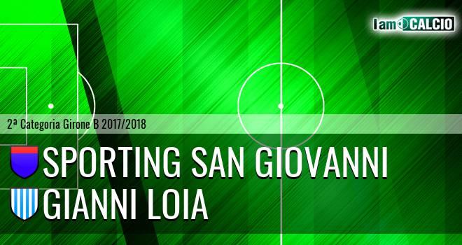 Sporting San Giovanni - Gianni Loia