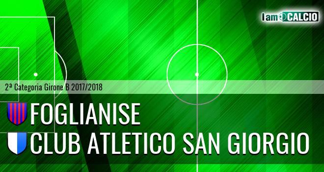 Foglianise - Club Atletico San Giorgio