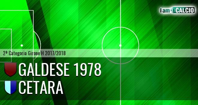 Galdese 1978 - Cetara