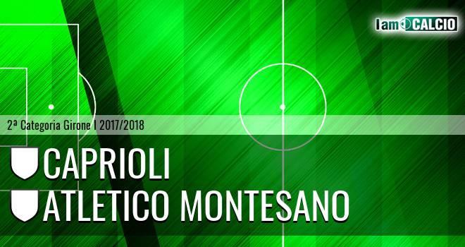 Caprioli - Atletico Montesano