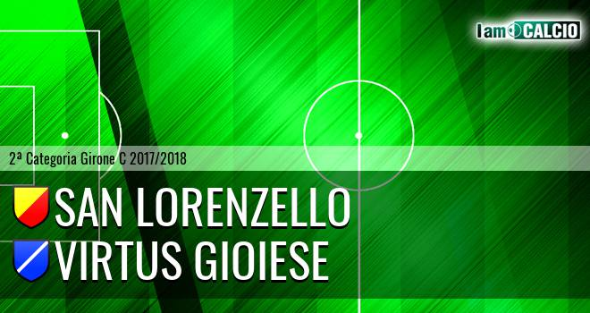 San Lorenzello - Virtus Gioiese
