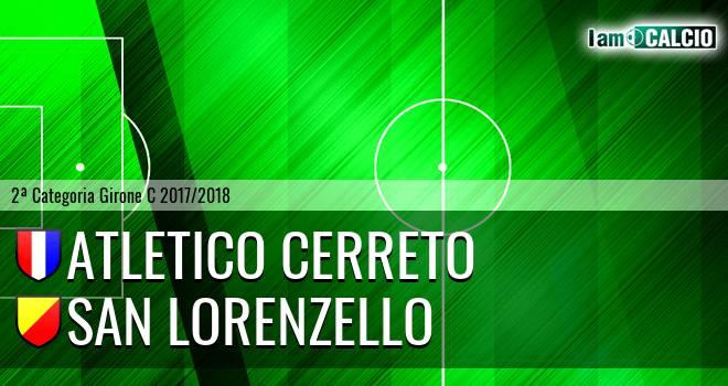 Atletico Cerreto - San Lorenzello