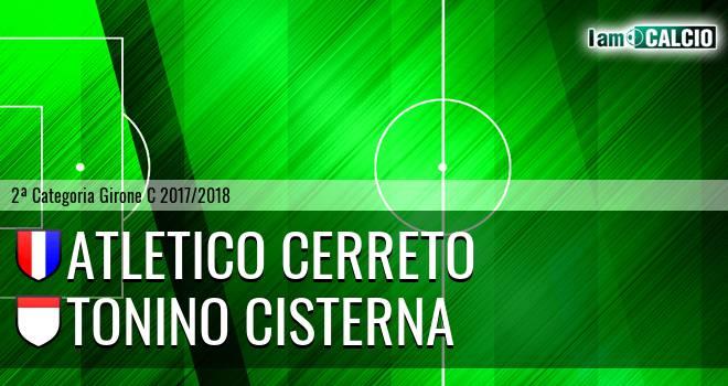 Atletico Cerreto - Tonino Cisterna