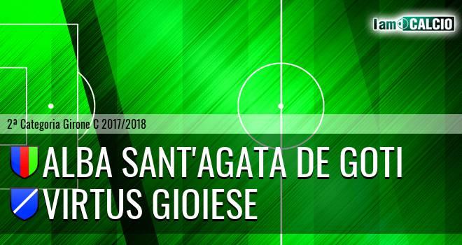 Alba Sant'Agata de Goti - Calcio Virtus Gioiese