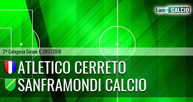 Atletico Cerreto - Sanframondi Calcio