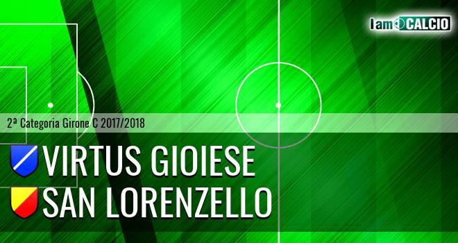 Virtus Gioiese - San Lorenzello