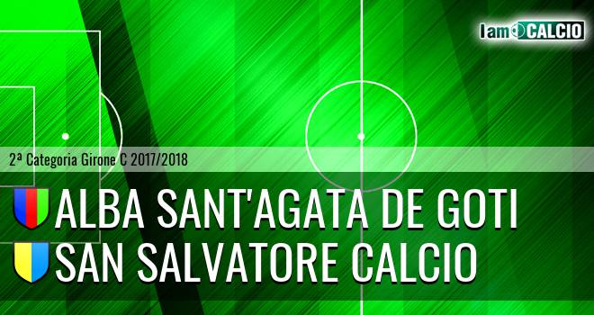 Alba Sant'Agata de Goti - San Salvatore Calcio