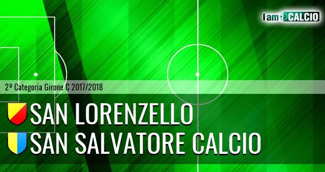San Lorenzello - San Salvatore Calcio