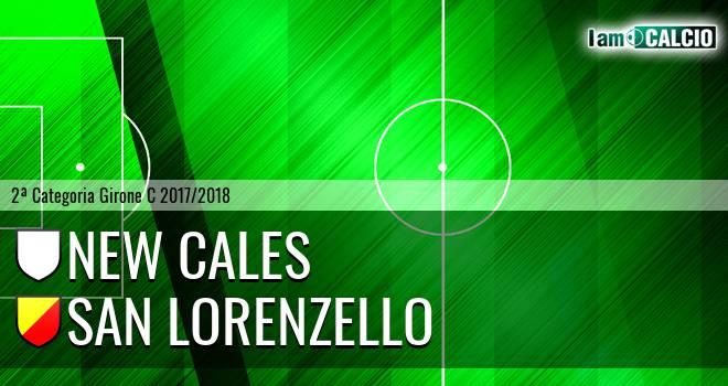 New Cales - San Lorenzello