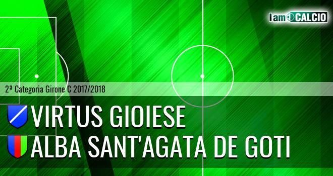 Calcio Virtus Gioiese - Alba Sant'Agata de Goti