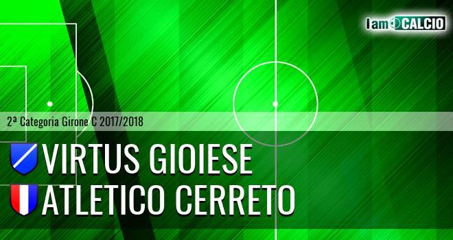 Virtus Gioiese - Atletico Cerreto