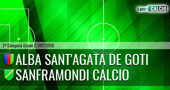 Alba Sant'Agata de Goti - Sanframondi Calcio