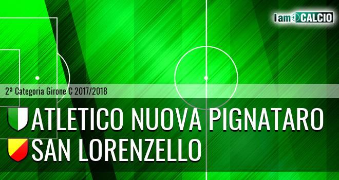 Atletico Nuova Pignataro - San Lorenzello