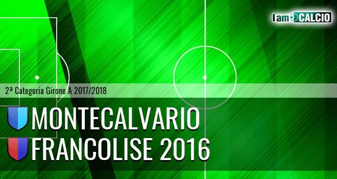 Montecalvario - Francolise 2016
