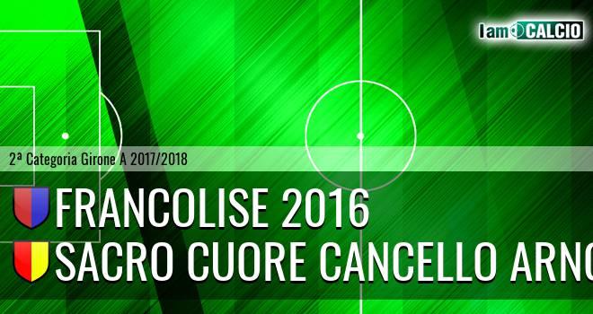 Francolise 2016 - Sacro Cuore Cancello Arnone