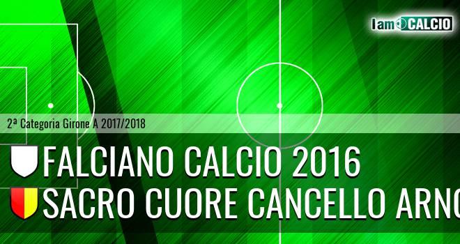 Falciano Calcio 2016 - Sacro Cuore Cancello Arnone