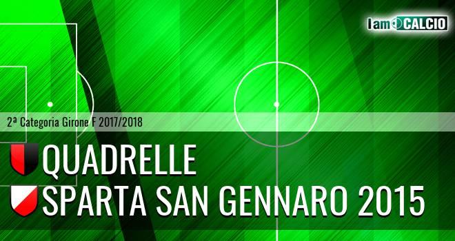 Quadrelle - Sparta San Gennaro 2015