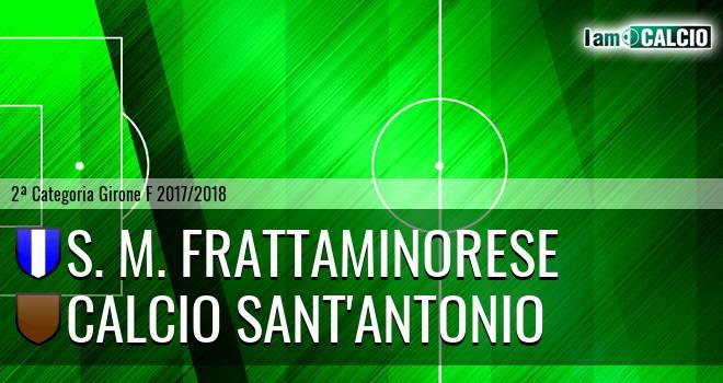 S. M. Frattaminorese - Calcio Sant'Antonio