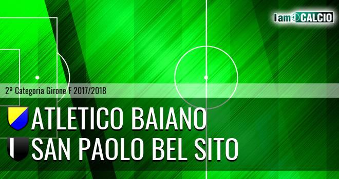 Atletico Baiano - San Paolo Bel Sito