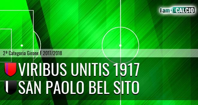Viribus Unitis 1917 - San Paolo Bel Sito