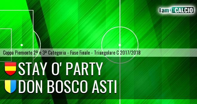 Stay O' Party - Don Bosco Asti
