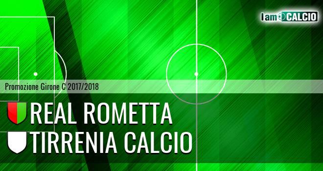 Real Rometta - Tirrenia Calcio
