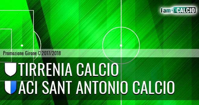 Tirrenia Calcio - Aci Sant' Antonio Calcio