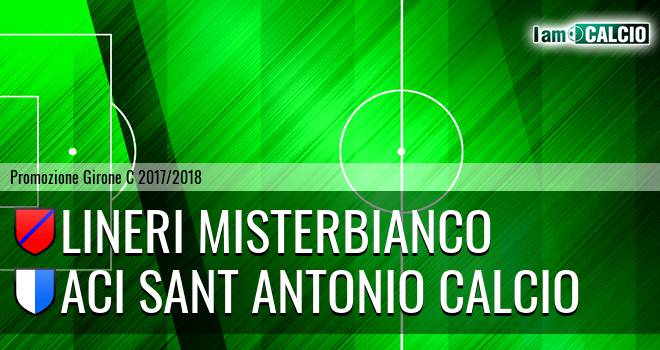 Lineri Misterbianco - Aci Sant' Antonio Calcio