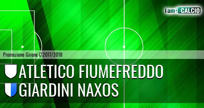 Atletico Fiumefreddo - Giardini Naxos