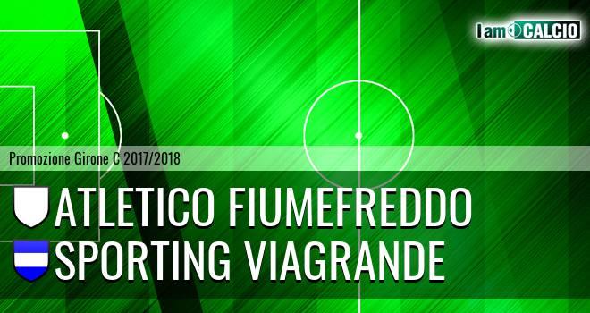 Atletico Fiumefreddo - Sporting Viagrande