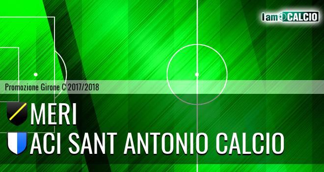 Meri - Aci Sant' Antonio Calcio