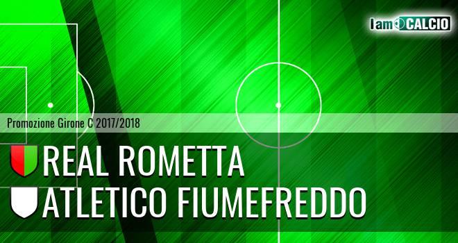 Real Rometta - Atletico Fiumefreddo